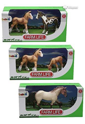 Hayvanları Tanıyalım çiftlik Seti özel Seri 3 Kutu Model Hayvan