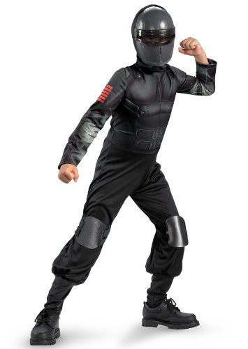 Snake Eyes Deluxe Costumes - Snake Eyes Classic Costume Size: 7-8