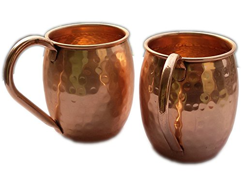 STREET CRAFT Copper Moscow Mule Mug 100% Pure
