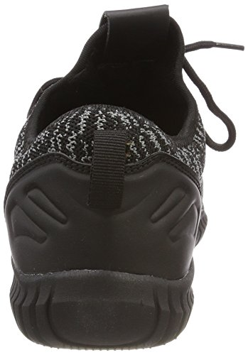 Classics Baskets Knitted Mixte Runner Adulte Shoe 828 black Multicolore Urban grey Light black d41Undq