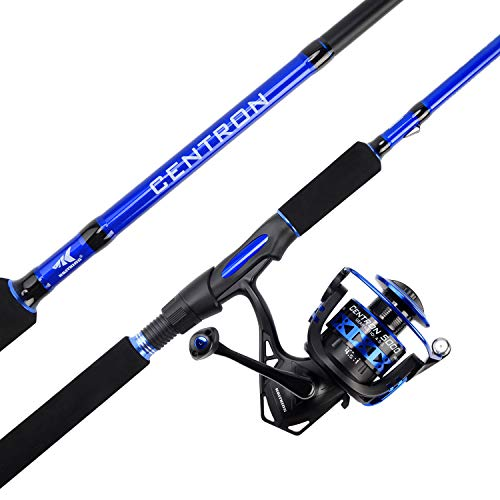 KastKing Centron Spinning Combos,7ft 6in, Medium Heavy-Full Handle,4000 Reel (Best Inshore Rod And Reel)
