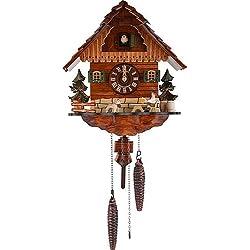 Schneider 11.5 Quartz Cuckoo Clock with Beer Drinker