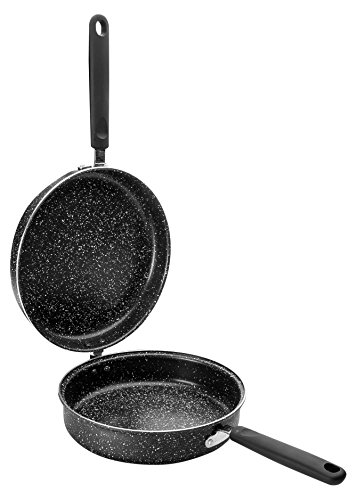 Ibili 441020Omelettpfanne Natura Aluminium schwarz 20cm