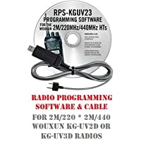 Wouxun KG-UV2D & KG-UV3D Two-Way Radio Programming Software & Cable Kit