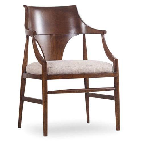 Hooker Furniture Studio 7H Jens Danish Dining Arm Chair by Hooker Furniture