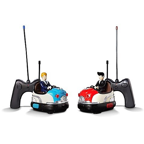 - FAO Schwarz Classic Retro Vintage Remote Controlled Toy Retro Bumper Car Set, Includes 2 Cars And 2 Battery-Operated Remote Controls