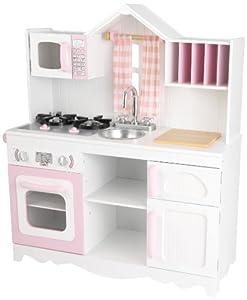 Amazon Com Kidkraft 53222 Modern Country Kitchen Toy