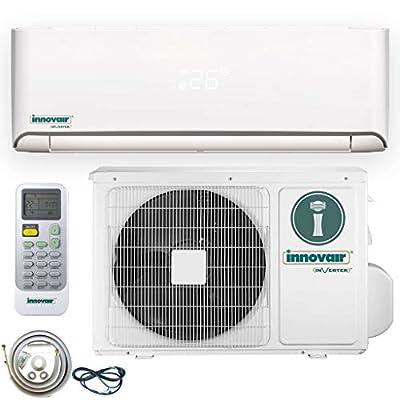Innovair Air Conditioner Inverter Ductless Wall Mount Mini Split System Heat Pump Full Set 17~19 SEER