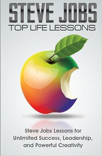 Steve Jobs Top Life Lessons: Unlimited Success, Leadership