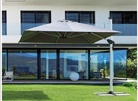 Bizzotto - Sombrilla para Brazo Ines 4 x 4, Color Gris: Amazon.es: Jardín