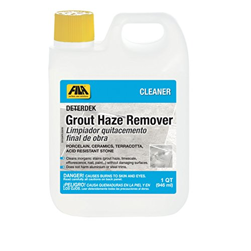 FILA 44010112 Deterdek 1 QT Hard Surface Floor Cleaner Grout Haze Remover