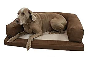 Hidden Valley Products 34 x 54 Microsuede Baxter Couch, Chocolate, X-Large