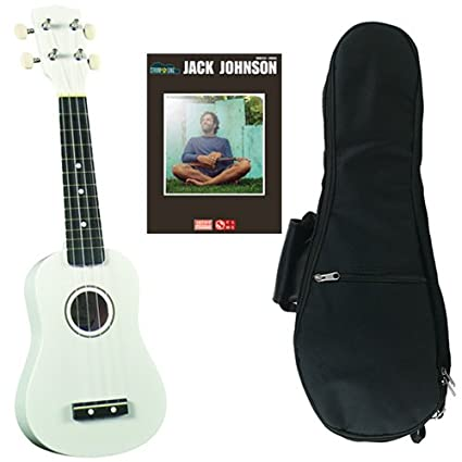 Amazon Jack Johnson Ukulele Pack Includes White Soprano