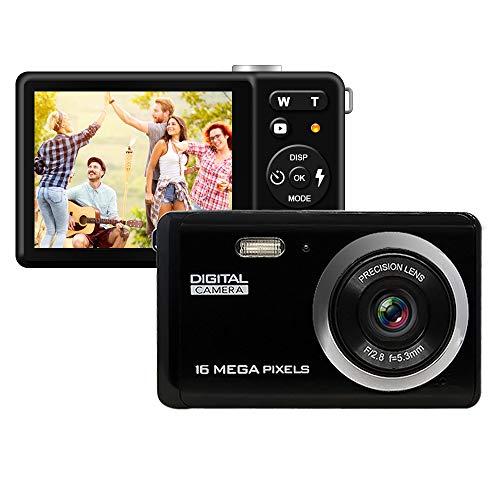 HD Digital Camera, Rechargeable Mini Digital Camera with 3