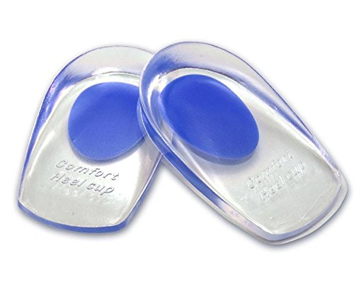 Price comparison product image Small Silicone Gel feet Cushion Foot Heel Cup Elastic Care Half Insole Shoe Pad New