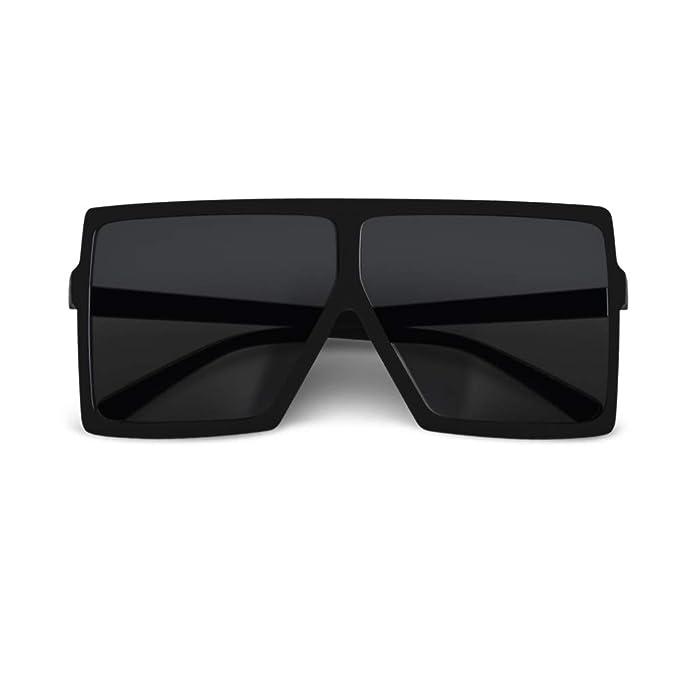Amazon.com: CHAUOO - Gafas de sol cuadradas ultraligeras de ...