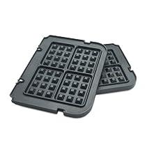 Cuisinart Griddler Waffle Plates, Black