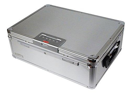Vaultz VZ01209 - Baúl digital con cerradura de seguridad para recámara, con cerradura de combinación digital, llave de...