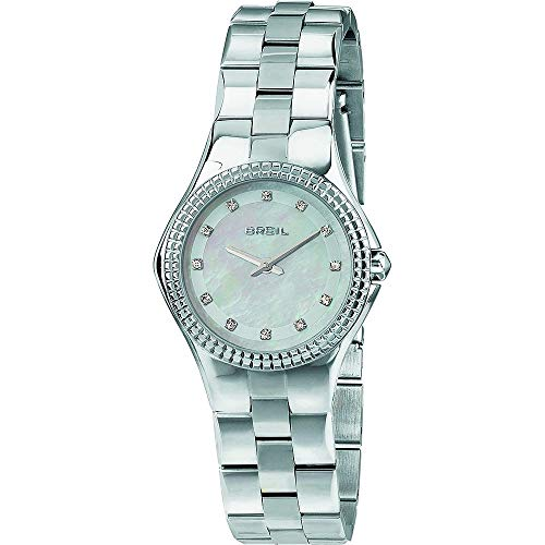 BREIL Watch Curvy Female Only Time with Crystals - TW1730