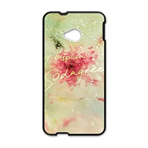Creative phone case for HTC M7,my happyness design