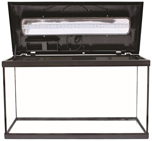 Amtra A2001039 Acquario Completo System LED, Nero