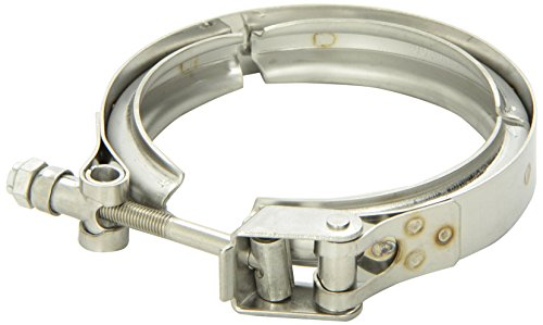 Vibrant c stainless steel quick release v band clamp
