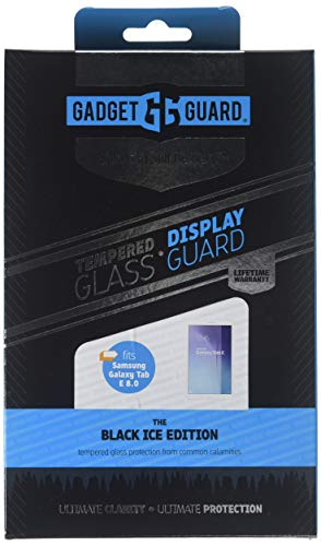 Gadget Guard Black Ice Edition Tempered Glass Screen Guard For Samsung Galaxy Tab E 8.0 - Clear by Gadget Guard