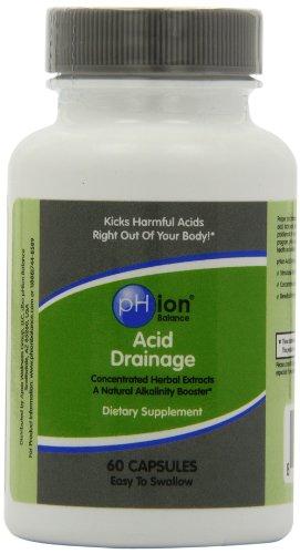 pHion Balance Acid Drainage, Capsules, 60-Count