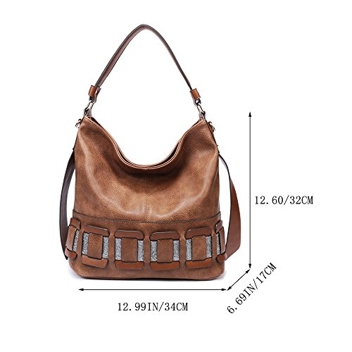 ON Large Women SALE Satchel Large Womens Brown928 Purses Handbags for BIG Compacity Tote 61ROO