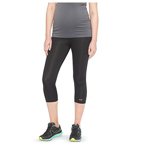 Champion Women's Maternity Under The Belly Freedom Yoga Capri Leggings