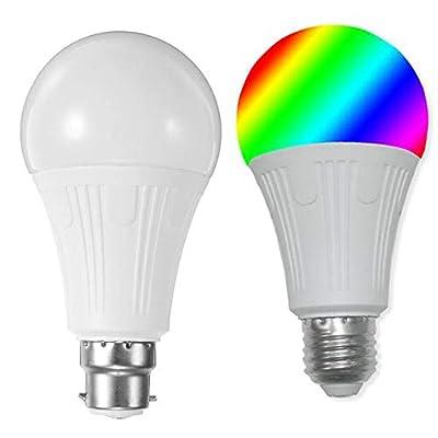 yanbirdfx E27/E26/B22 7W WiFi Smart LED Light Bulb Wireless Phone APP Remote Control Lamp
