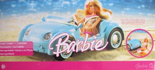 Barbie COAST CRUISER CABRIOLET Vehicle CAR w Picnic Basket (2006 Multi-Lingual Box)