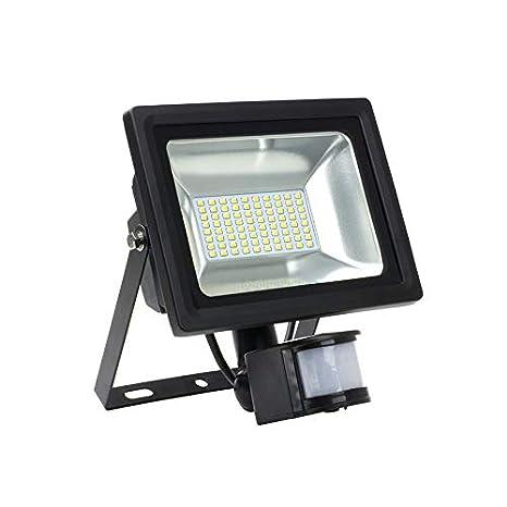 Foco Proyector LED SMD con Detector de Movimiento PIR 30W 120lm/W efectoLED