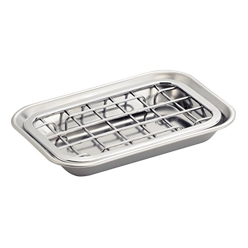 bathroom soap dish chrome - 1