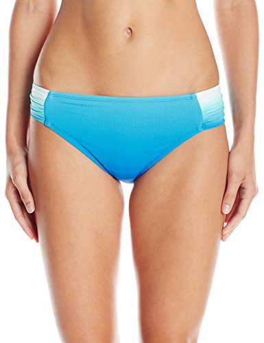 - Bleu Rod Beattie Women's Fun in The Sun Side Tab Hipster Bikini Bottom, Blue/Multi, 10