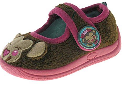 Beppi - Zapatillas de estar por casa para niño marrón - marrón
