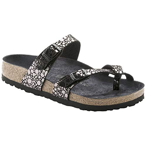 Birkenstock Unisex Mayari Birko-Flor Black Sandals 9 W / 7 M US