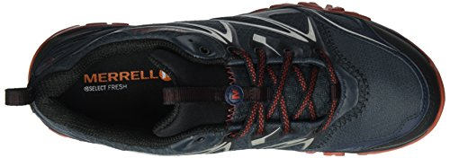 Black Boots Capra Hiking High GTX Black Bolt Rise Men's Navy Merrell Cfq05xzn