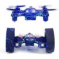 W&P Drone deformación DIY UAV RC de 2.4G Quadcopter LED iluminación / una llave para Auto-retorno / Auto-despegue / 360 ° RollingRC Quadcopter