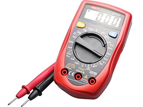 Uni-T Ut-33D Digital Multimeter With Continuity Buzzer And Calibration Certificate And Test Leads Price & Reviews