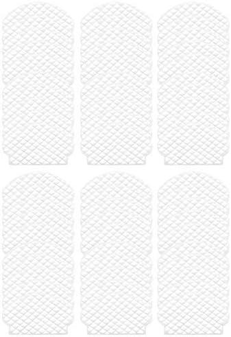 Bisheep Accessori Kit 60 Pz Usa e getta Mop Panno Rags per Deebot Ozmo 950 920 905 Aspirapolvere Mocio Panno Parti di Ricambio