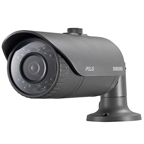 SAMSUNG Security Surveillance CCTV Camera 2MP 1080p Full HD SNO-6011R 2 Megapixels (1920 x 1080) 30fps IP66 Day & Night Weatherproof Network IR Indoor Outdoor CCTV Security Bullet Camera