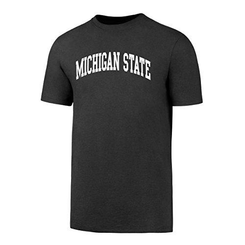 OTS NCAA Michigan State Spartans Men's Rival Tee, Charcoal, (Michigan State Spartans Football)