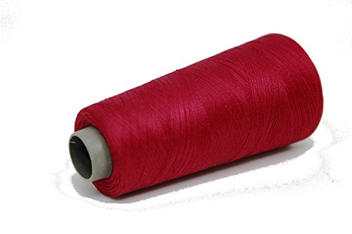 - Knitsilk Silk Viscose Blend Yarn in Ruby Red (Maroon), (2 ply, 50 GMS) Great for Embroidery, Needle Felting, Knitting, Crochet, Weaving, jewelery, Crafts, Tassel Making