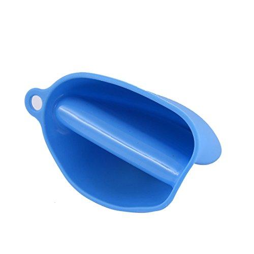 Amazon.com: eDealMax silicona Titular de la olla de cocción Grip horno lavavajillas Mitt Pinch guante Azul del cojín: Home & Kitchen