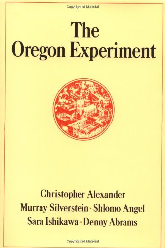 OREGON EXPERIMENT  Center For Environmental Structure Band 3