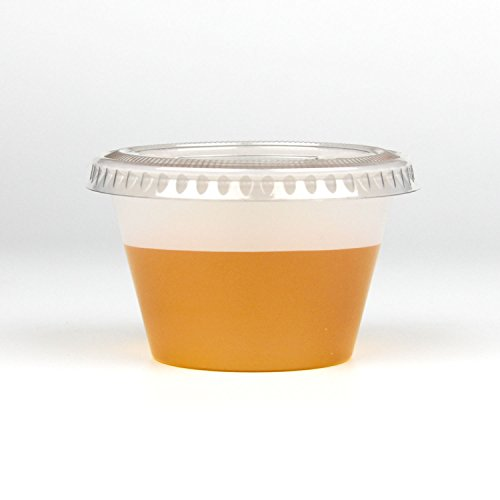1395469409a 250 Pack] 4 Ounce BPA-Free Plastic Portion Cup with Clear - Import ...