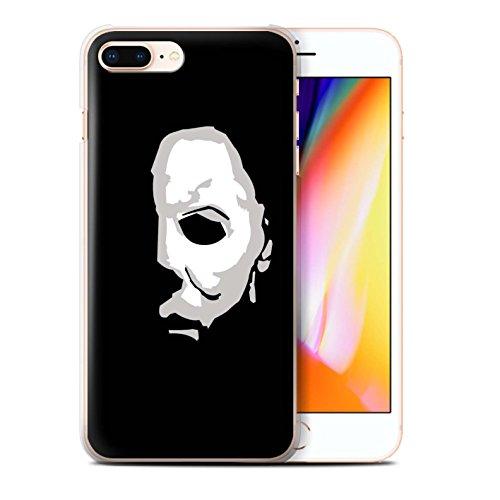 STUFF4 Phone Case/Cover for Apple iPhone 8 Plus/Michael Myers Inspired Art Design/Horror Movie Art -