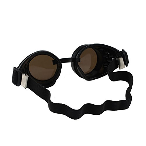 Sunglasses Cosplay Lunettes De Steampunk Style A de Vovotrade 50s Goggles Soleil Punk Vintage Lunettes qUaPxtW
