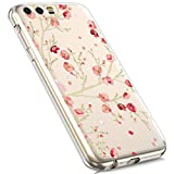 Huawei Mate 20 Pro Silicone Case,MoreChioce Fashion Creative Painted Pattern Design Slim Transparent Silicon Protective Cover Compatible with Huawei Mate 20 Pro + 1x Blue Stylus Pen